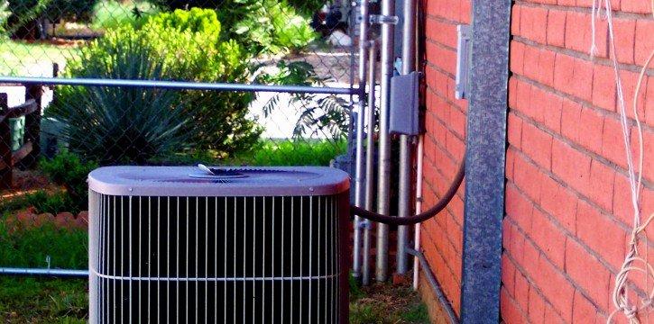 furnace outside
