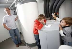 heat pump family