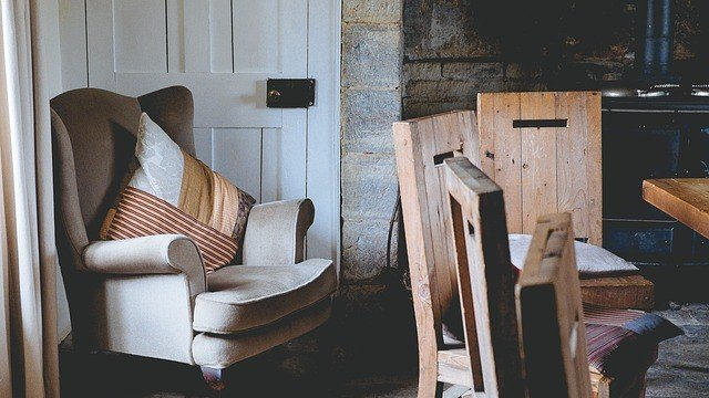 furnace in a cottage