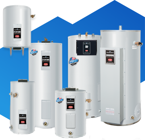 hot water tanks with different sizes