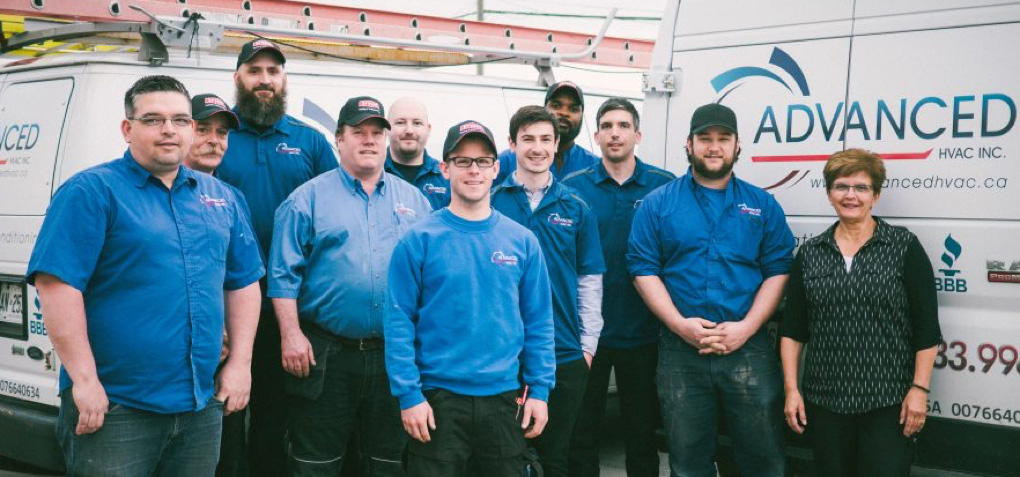 Advanced HVAC team