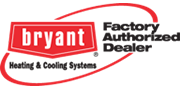 Bryant factory authorized dealer certification