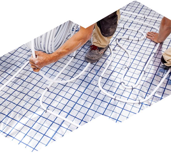 installing radiant floor